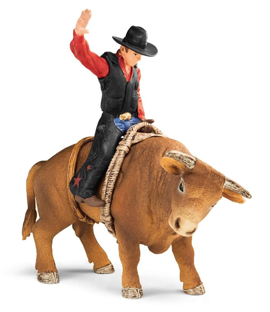 #72120S Bull Rider with Rodeo Bull Set
