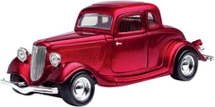 #73217 1/24 Red 1934 Ford Coupe