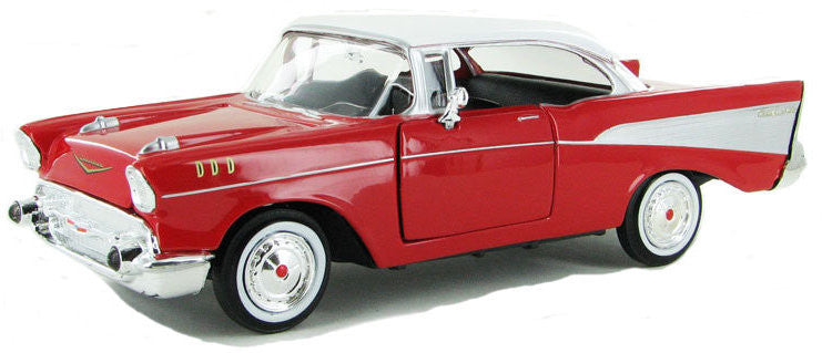 #73228 1/24 Red 1957 Chevy Bel Air