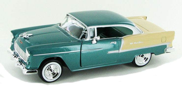 #73229G 1/24 Green 1955 Chevy Bel Air