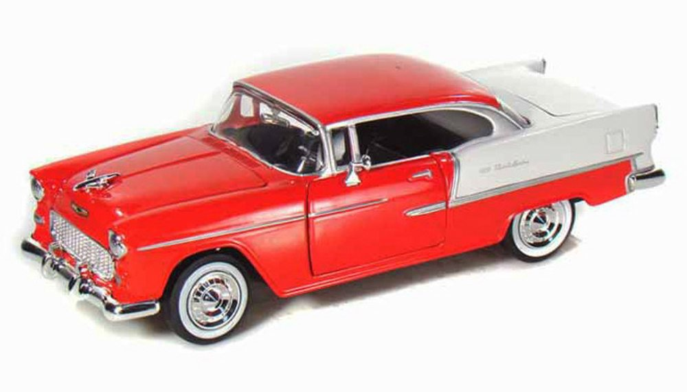 #73229R 1/24 Red 1955 Chevy Bel Air Coupe