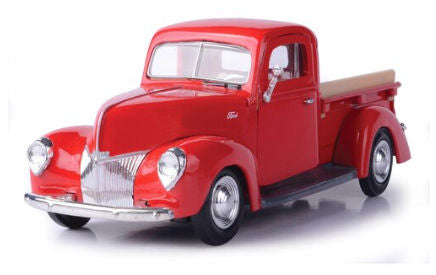 #73234R 1/24 Red 1940 Ford Pickup
