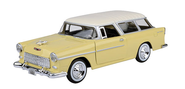 #73248Y 1/24 Yellow 1955 Chevy Bel Air Nomad