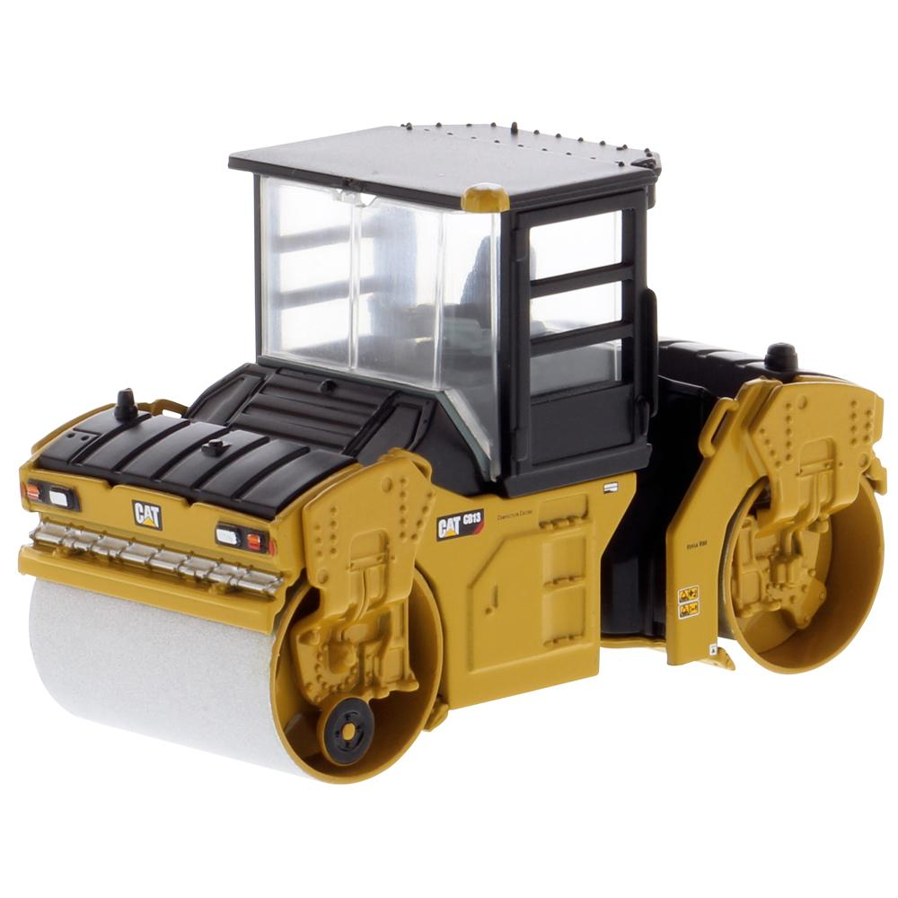 #85631 1/64 Caterpillar CB-13 Tandem Vibratory Roller with Cab