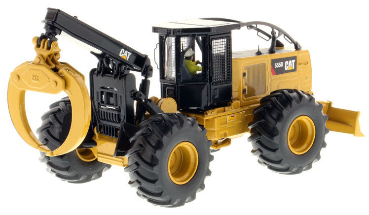 #85932 1/50 Caterpillar 555D Wheeled Skidder - High Line Series