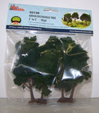 #92130 Green Deciduous Trees 10-pc. Set