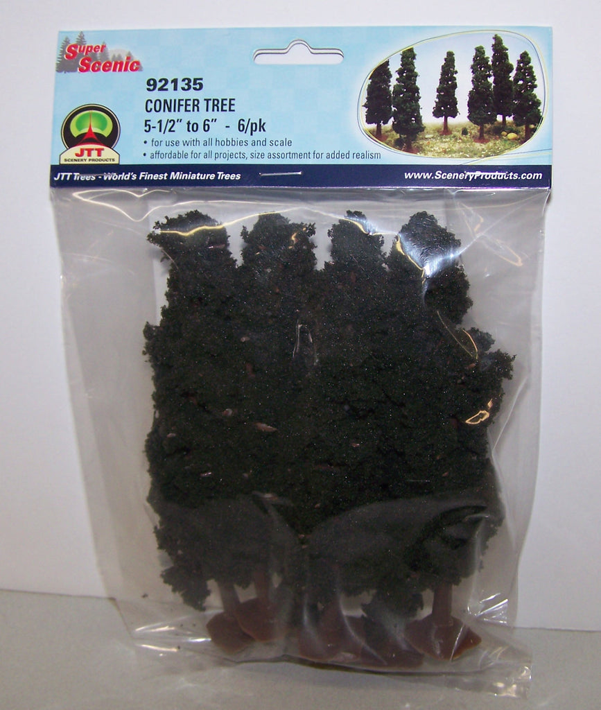 #92135 Conifer Tree 6-pc. Set