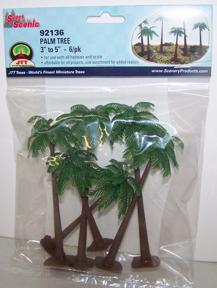 #92136 Palm Tree Set 6-pc