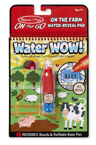 #9232 Water Wow! On the Farm Water-Reveal Pad