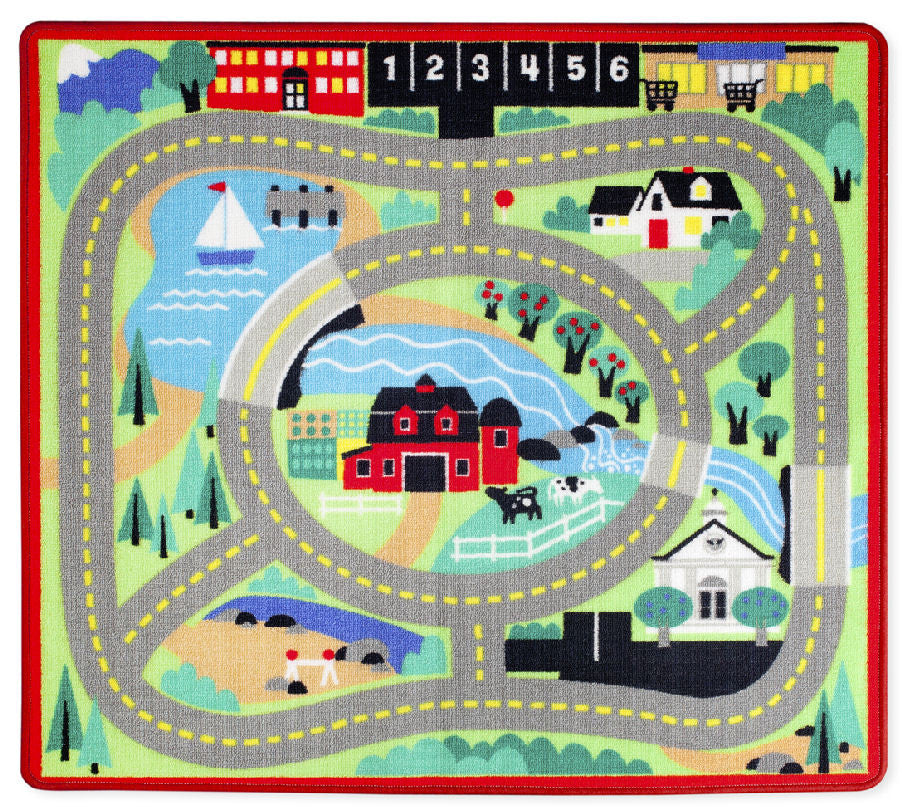 #9400 Round the Town Road Rug