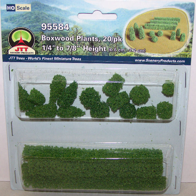#95584 1/87 Boxwood Plants
