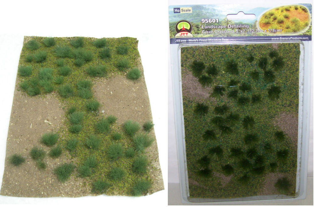 #95601 Green Grassland Landscaping Detail Sheet