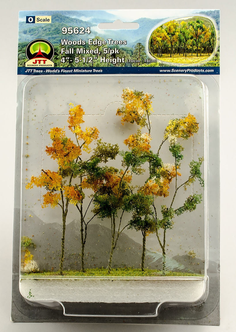 #95624 1/48 Woods Edge Trees, Fall Mix 5-pack
