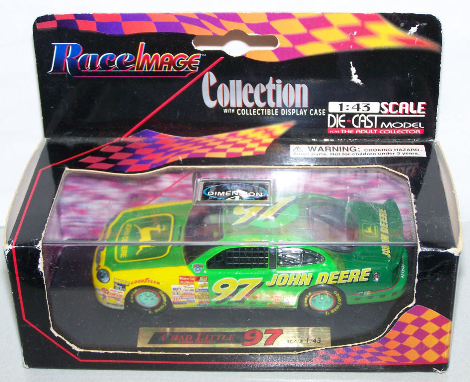 #97111 1/43 Chad Little John Deere #97 Ford Taurus NASCAR