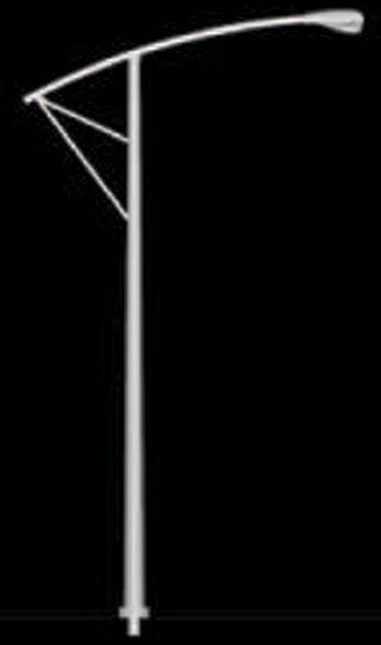 #97355 1/48 Single Street Light Set