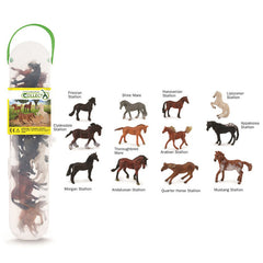 #A1109 CollectA Box of Mini Horses