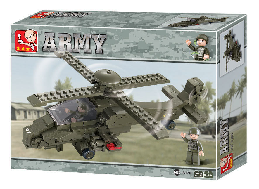 #B0298 Army Land Forces Building Block Set