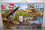 #B0553 Construction Crane Truck Building Block Set