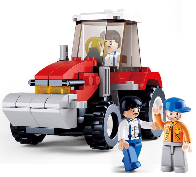 #B0556 Farm Tractor Building Block Set