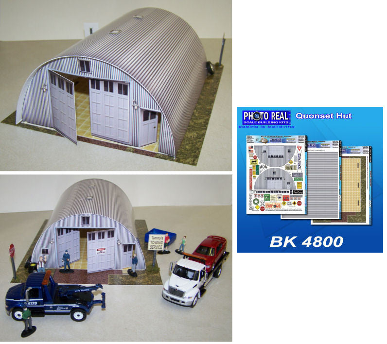 BK4800 1/48 Quonset Hut Building Kit