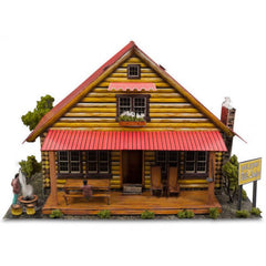 BK4816 1/48 Log Cabin Building Kit