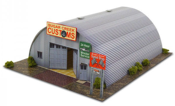 BK6400 1/64 Quonset Hut Building Kit