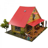 BK6416 1/64 Log Cabin Building Kit
