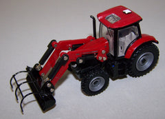 #C006 1/64 Case-IH Maxxum 145 Tractor with Loader & Custom Grapple Forks