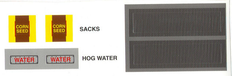 #DC02 1/64 Feed & Water Tank Decals