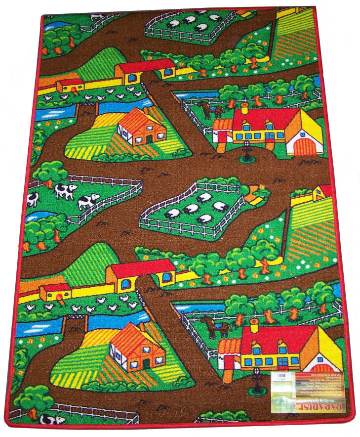 farm-2 Farm Yard Play Rug