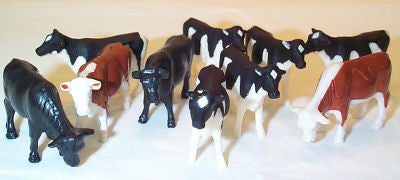#FCA204 1/64 Mixed Cattle Assortment