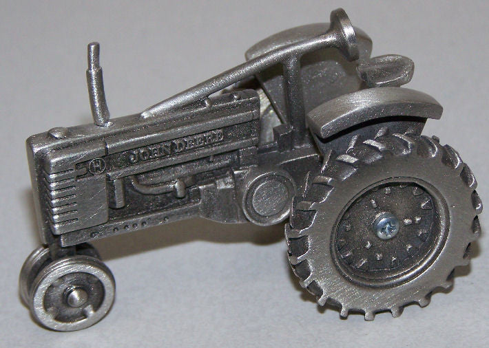#JDM005 1/43 Pewter John Deere Model H Tractor - narrow front