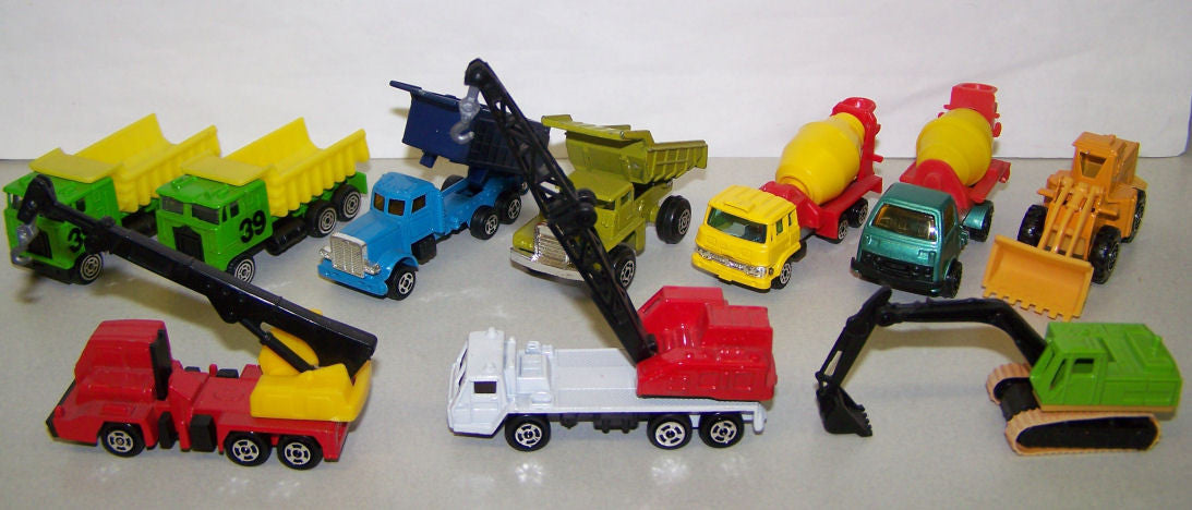 #K81 Misc. 3-pc. Dump Truck Set