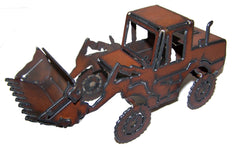 #KC10 Rustic Metal Front Loader
