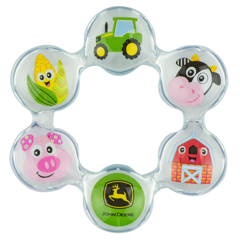 #L27412 John Deere Chill Teethers Set of 2