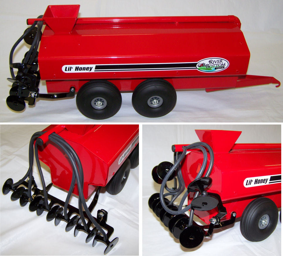 #RBT15 Red Lil' Honey Liquid Manure Spreader
