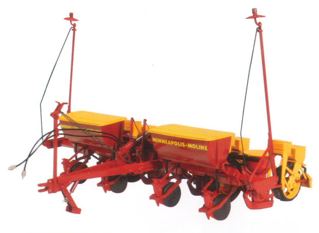 #SCT704 1/16 Minneapolis-Moline Model 400 4-Row Planter
