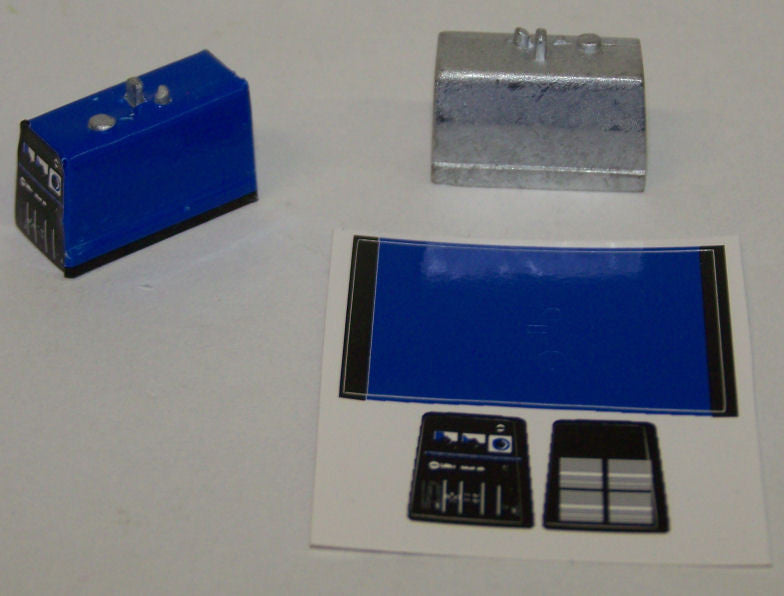 #TRP5500B 1/64 Portable Engine Welder with Blue Decal Sheet