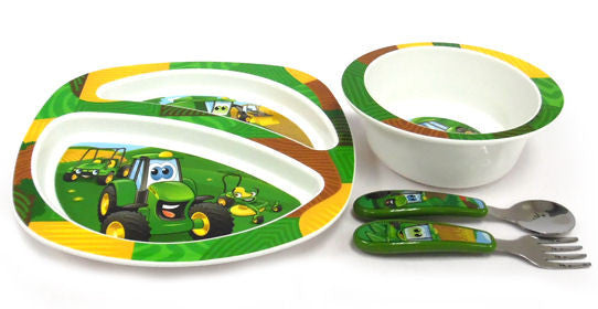 #Y10649 John Deere Feeding Set - 4-piece