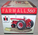 #ZJD119 1/16 Farmall 560 Resin Tractor on Sculptured Base