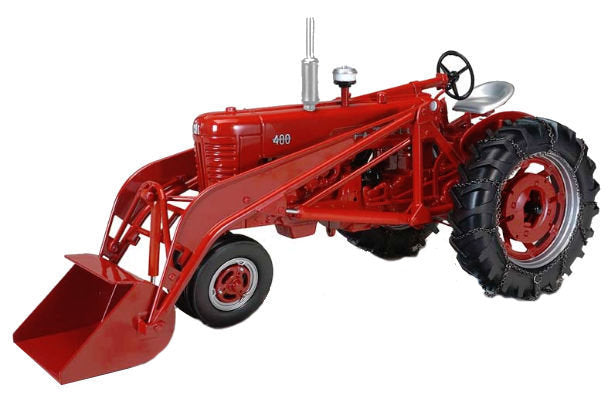 #ZJD1819 1/16 Farmall 400 Tractor with Loader & Chains