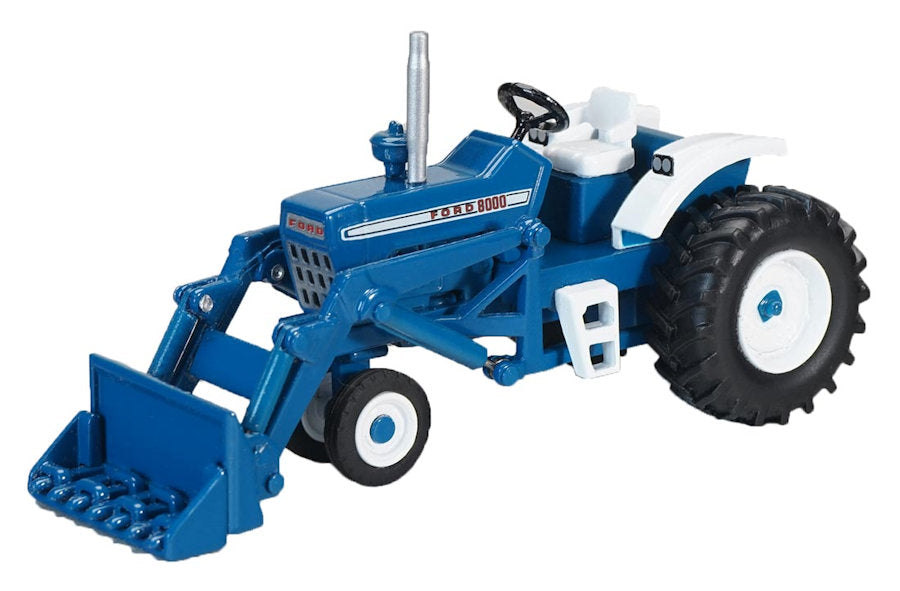 #ZJD1835 1/64 Ford 8000 Narrow Front Tractor with Loader