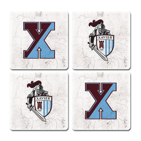 Xavier Knight Coasters (x4)