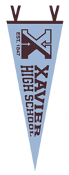 Xavier High School Pennant
