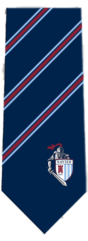 Xavier Woven Tie with Knight