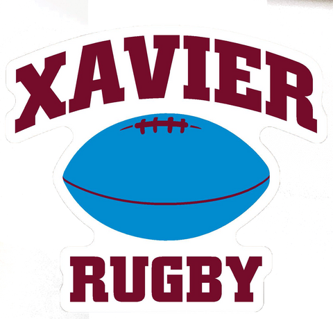 Xavier Rugby Magnet