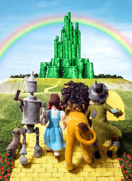 *Cozy Classics: The Wonderful Wizard of Oz by Jack Wang & Holman Wang