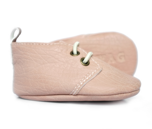 *Sweet N Swag Moxfords - The Abbey (Light Pink)