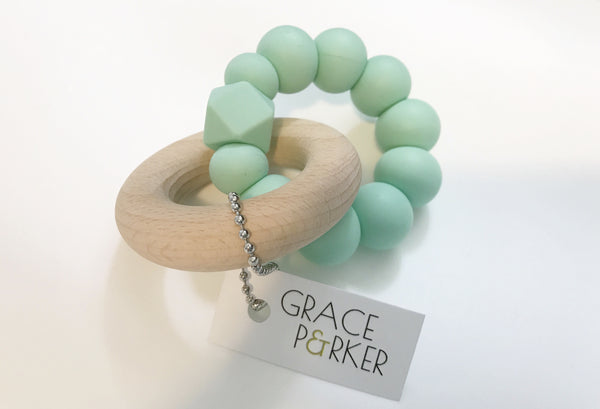 *Grace & Parker Grace Teether - Multiple Colors