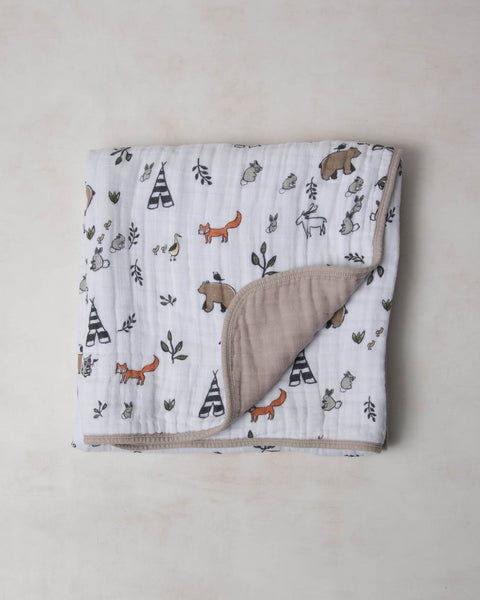 *Little Unicorn Cotton Muslin Quilt - Multiple Prints